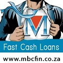 Need cash in a hurry? Apply online for a payday loan (Permanently employed South Africans only). 031 8237994 /  online@mbcfin.co.za / www.mbcfin.co.za